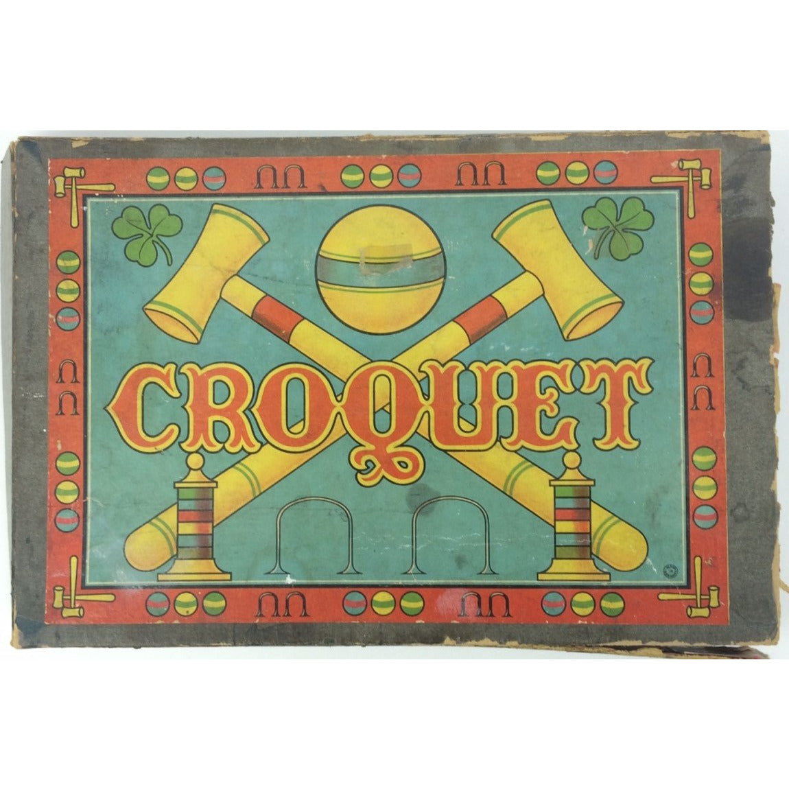 Boxed Croquet Wood Set