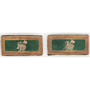 'Pair of Saint George's Cross Bullion Epaulettes'