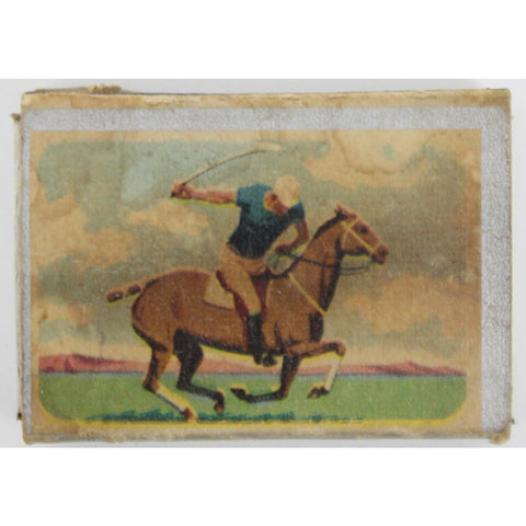 """Polo Player Matchbook"""