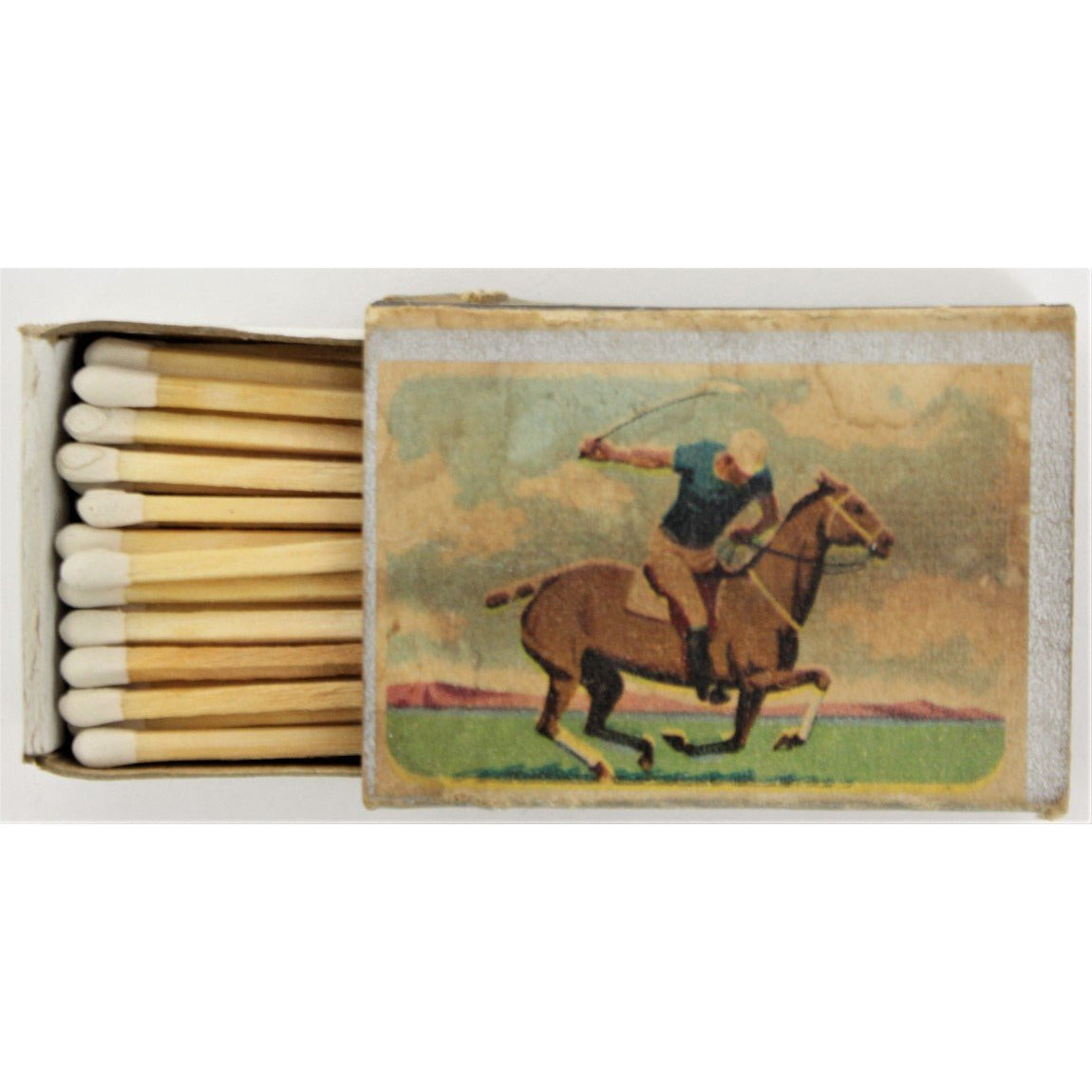 Polo Player Matchbook