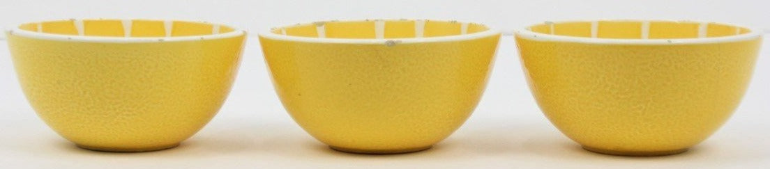 Set of 3 Lemon Bowls