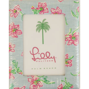 Lilly Pulitzer Floral Fabric Photo Frame