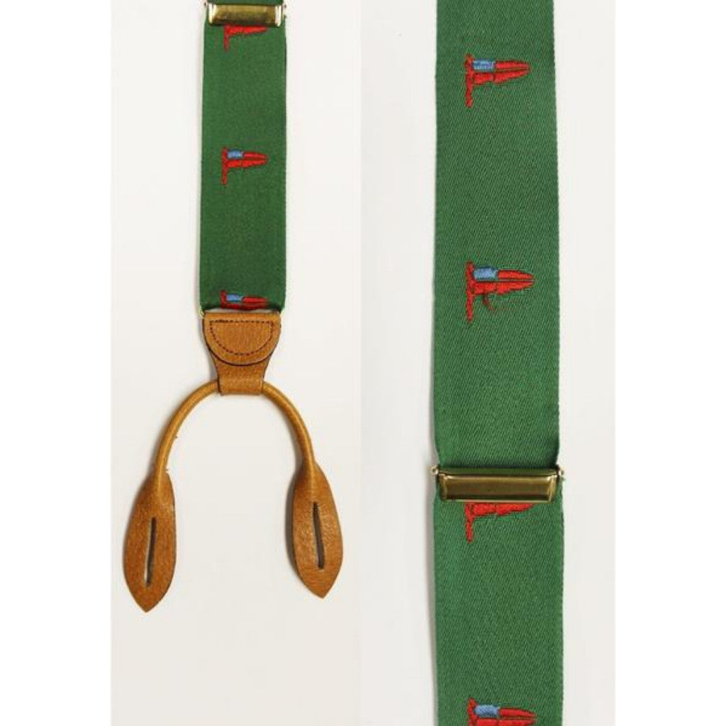Cole-Haan Burgee Flag Braces