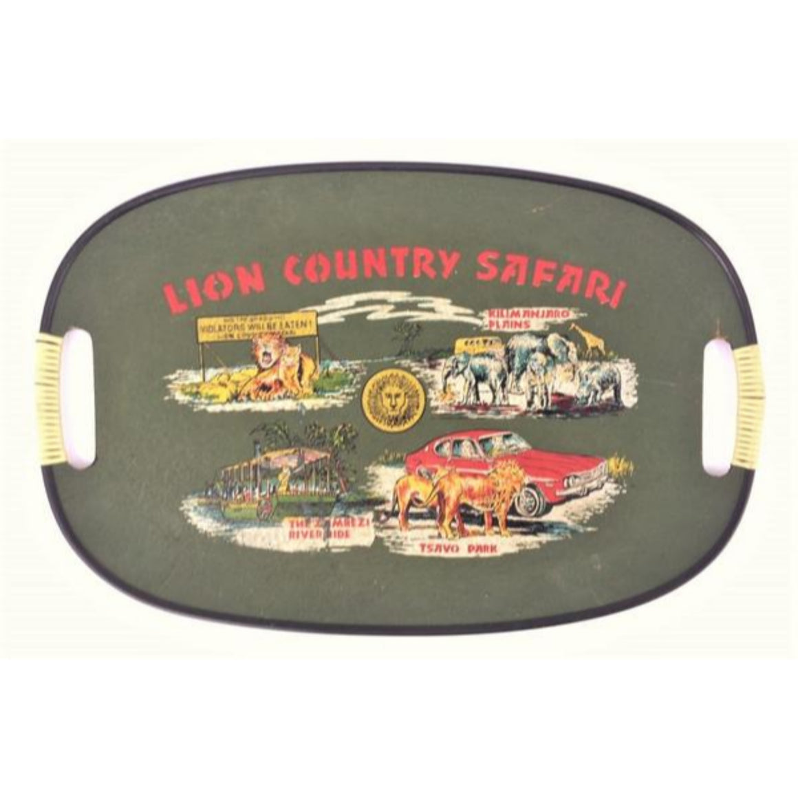 'Lion Country Safari Tray'