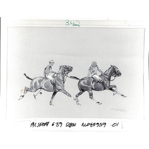 Paul Desmond Brown Sands Point Polo Glossy Photo