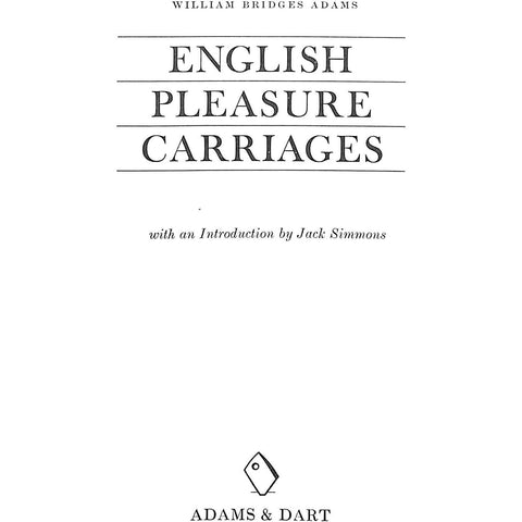 English Pleasure Carriages