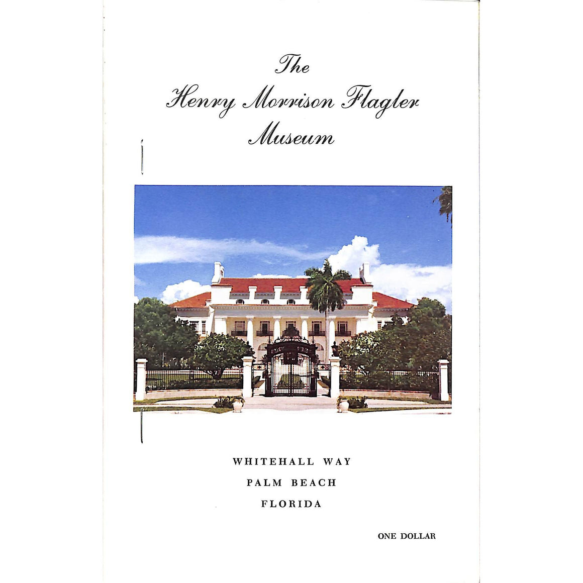 The Henry Morrison Flagler Museum: Whitehall Way Palm Beach