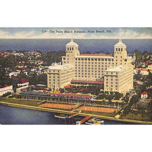 The Palm Beach Biltmore Post Card (Sold!)