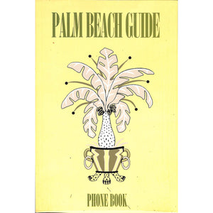 Palm Beach Guide Phone Book