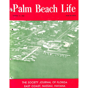 Palm Beach Life Magazine March 11, 1952