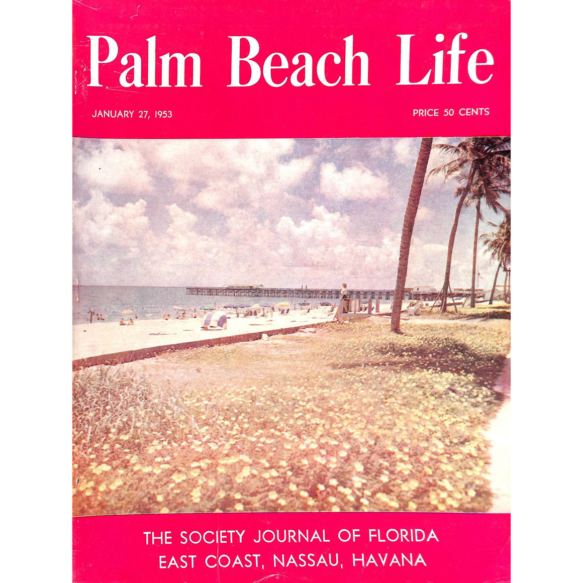 Palm Beach Life Magazine January 27, 1953