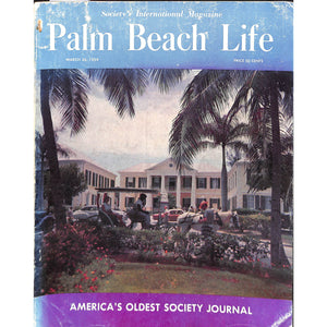 Palm Beach Life Magazine March 26, 1959