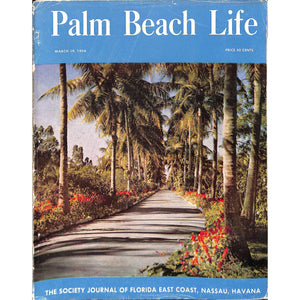 Palm Beach Life Magazine March 19, 1954