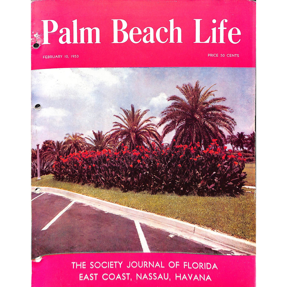 Palm Beach Life Magazine February 10, 1953