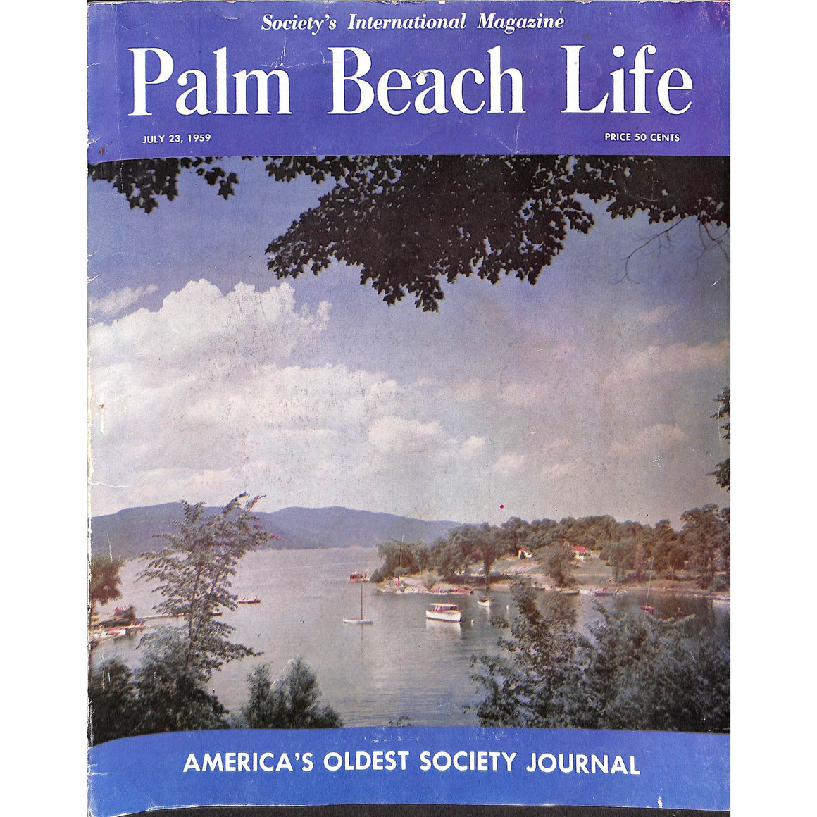 Palm Beach Life Magazine July 23, 1959