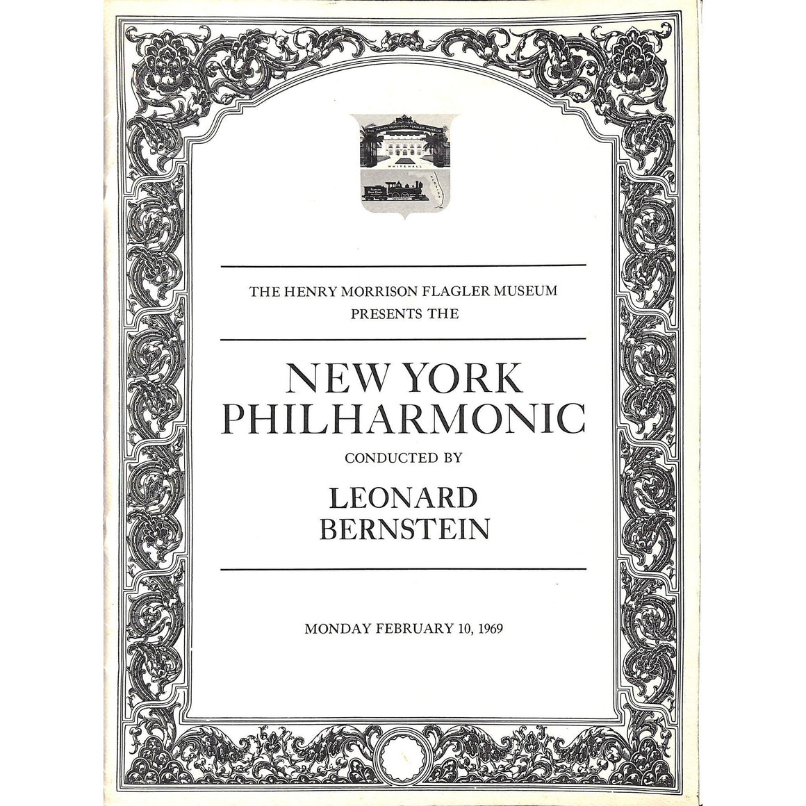 New York Philharmonic Conducted by Leonard Bernstein Monday February 10, 1969