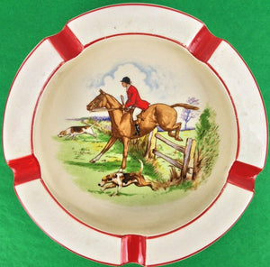Simpsons Ambassador Ware Foxhunter Ashtray