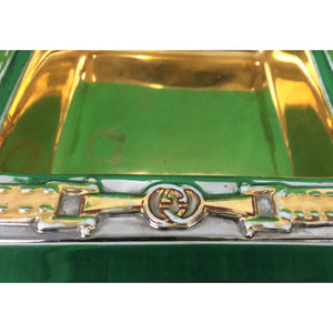 Gucci Bridle Belt Square Ashtray