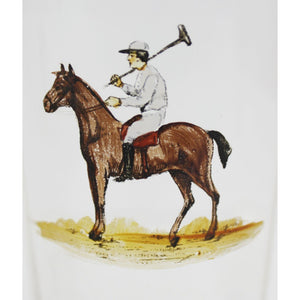 Set of 3 Polo Player Highball Glasses