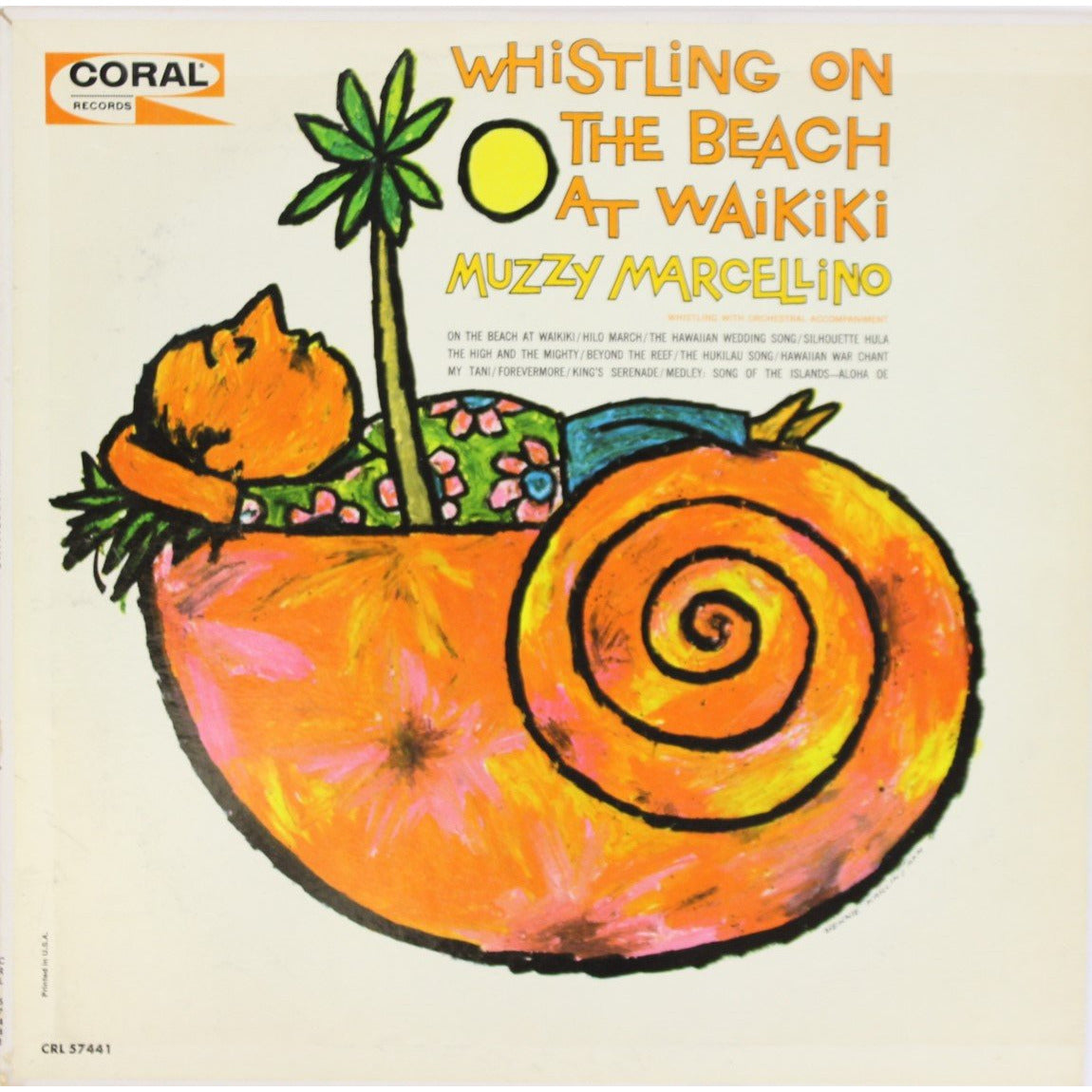 Whistling on The Beach at Waikiki LP