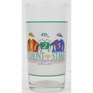 1993 Colonial Affair Belmont Stakes Highball Glass