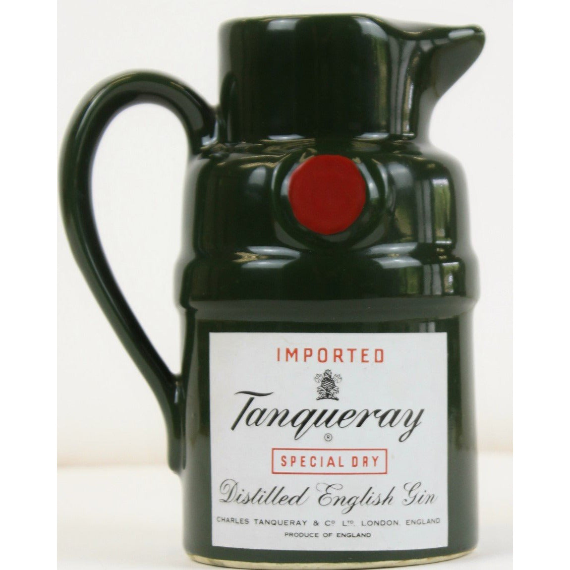 Tanqueray Gin Ceramic Cocktail Pitcher