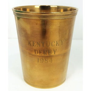 Kentucky Derby 1984 Mint Julip Cup