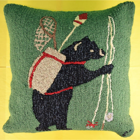 Smokey The Adirondack Bear Pillow