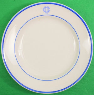 Union Club Mayer China Salad Plate