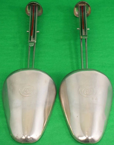 Pair of Gucci Metal Shoe Trees