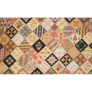 Sampler Custom Needlepoint Area Rug