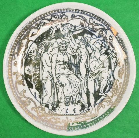 Stacking Set of 8 Fornasetti Mitologia Boxed Coasters