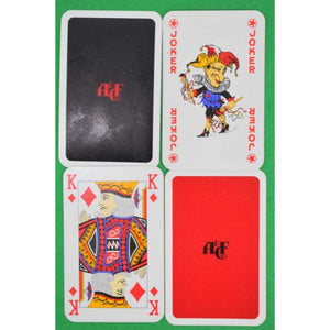 Abercrombie & Fitch c1980s Poker Chip Gaming Set