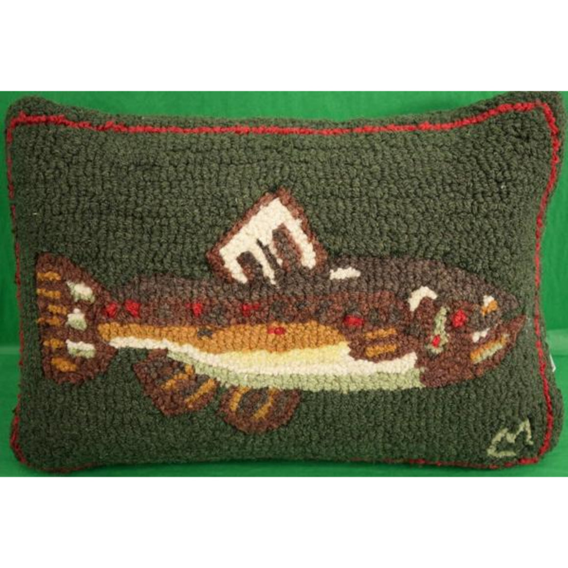 Fish Decoy Pillow