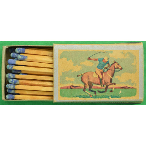 Pair of Ohio Blue Tip Polo Matchbook 1955