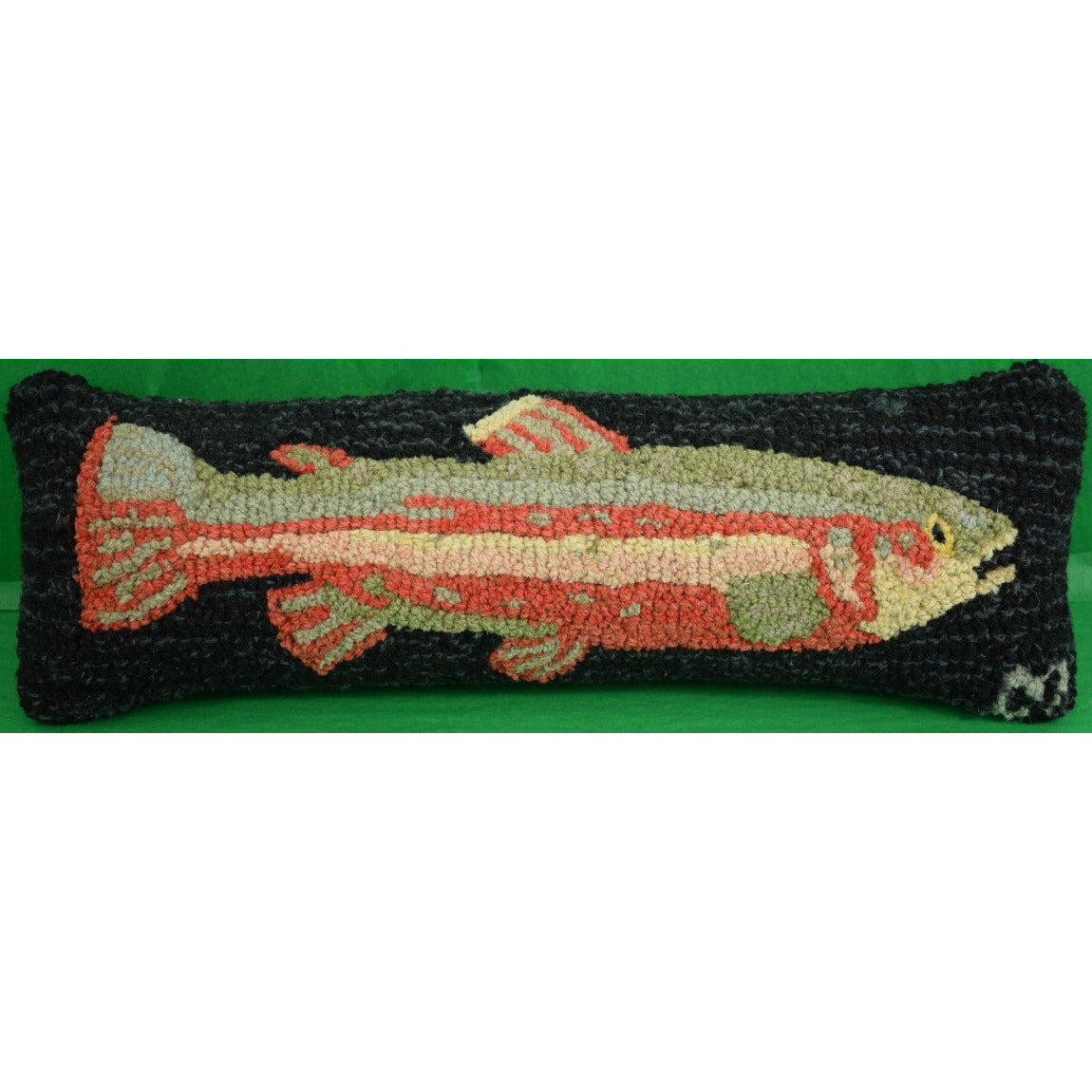 Trout Stitched Pillow