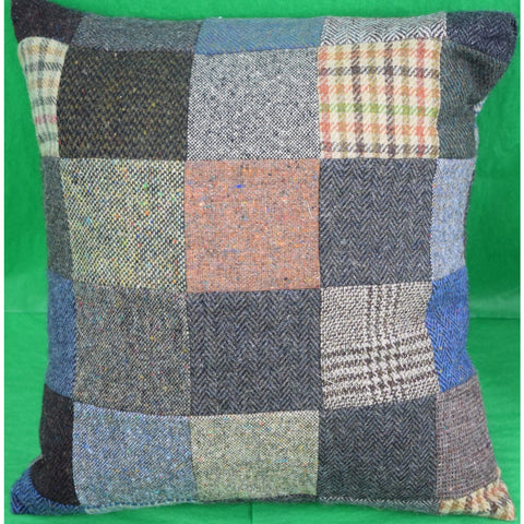 Pair of Orvis Patch Irish Tweed Pillows