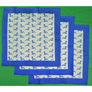 El Morocco Club 3 Silk Pocket Squares