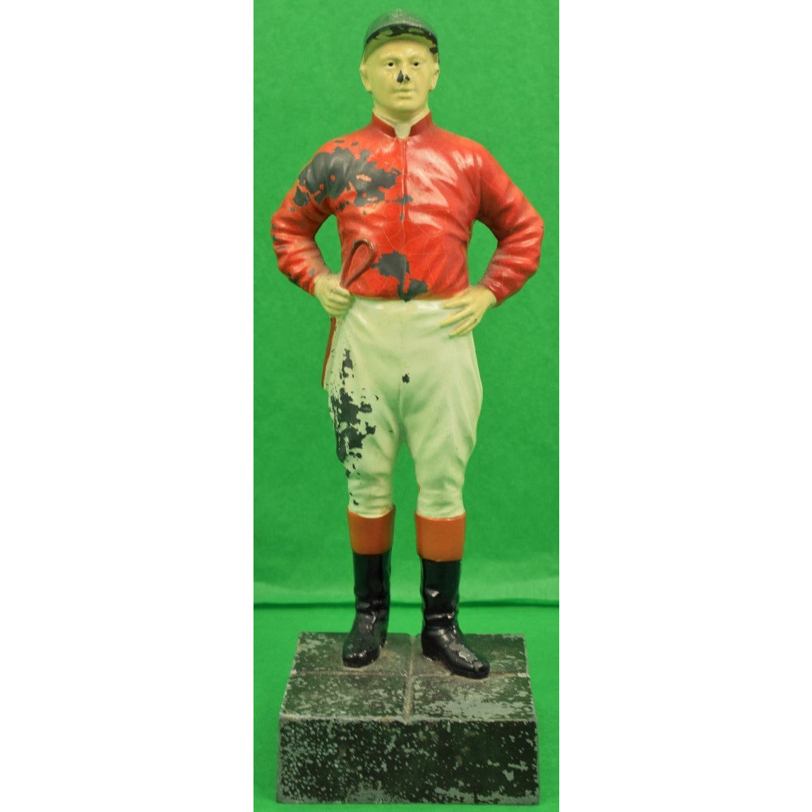 21 Club Jockey Bookend