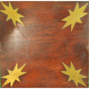 Marquetry Star 'Inlay' Stand