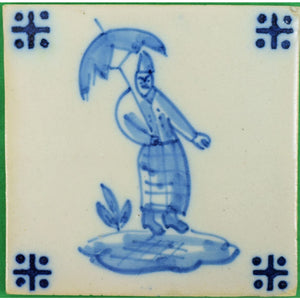 Chinoiserie Portugese Tile