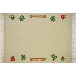 Camp & Canoe Wool Throw