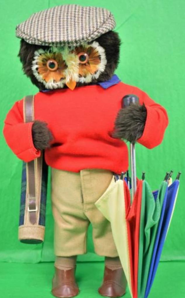 "Abercrombie & Fitch London Owl ""The Golfer"""
