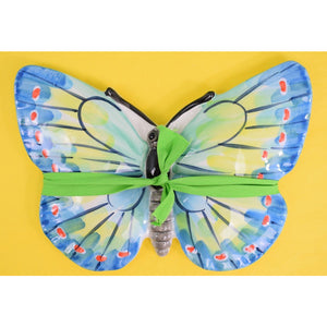 Ceramic Hand-Painted Tropical Butterfly