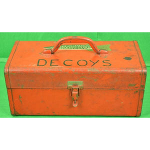 Fish Decoys Metal Box