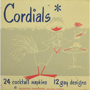 24 Cocktail Napkins