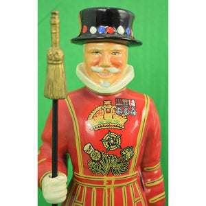 London Beefeater Yeoman Ceramic Carlton Ware Cannister