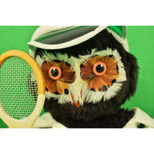 "'Abercrombie & Fitch London Owl ""The Tennis Player"""