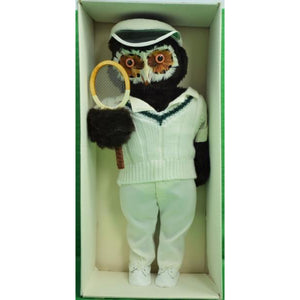 "Abercrombie & Fitch London Owl ""The Tennis Player"""