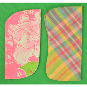 Lilly Pulitzer 1960's Fabric Eyeglass Case